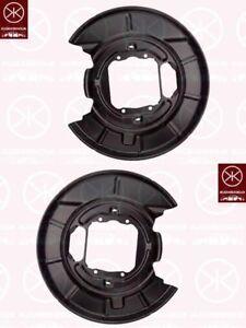 Ankerblech-Spritzblech-Hitzeschutzblech-Bremsstaubblech-Satz-hinten-BMW-5er-E39