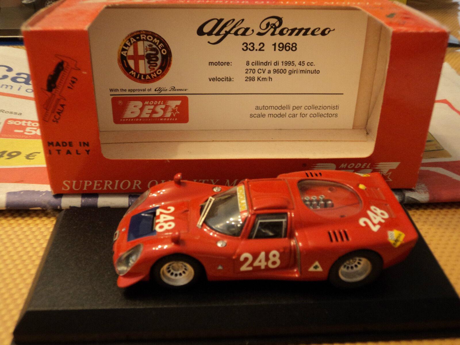 Best 1 43 Alfa Romeo 33.2 Targa Florio 1969
