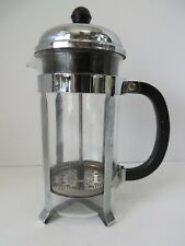 BODUM French Press Coffee Maker Stainless Steel and Glass 12 Ounce #7199
