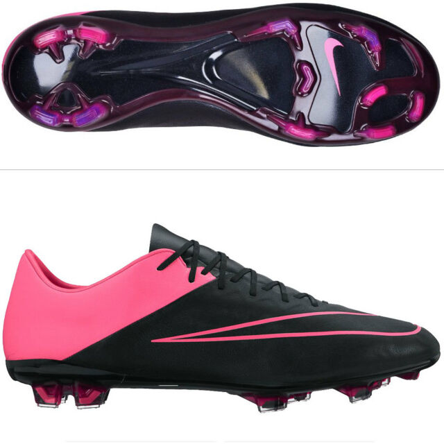 81a620c92 Nike Mercurial Vapor X Tech Craft Leather FG Soccer Cleats Boots Size 6 Pink