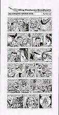 AMAZING SPIDERMAN 1994 ORIGINAL NEWSPAPER PROOF PAGE PRODUCTION ART HOBGOBLIN MJ