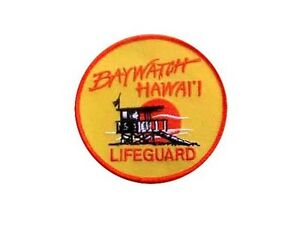 Alerte-a-Malibu-Hawaii-Ecusson-des-sauveteurs-Baywatch-rescue-patch