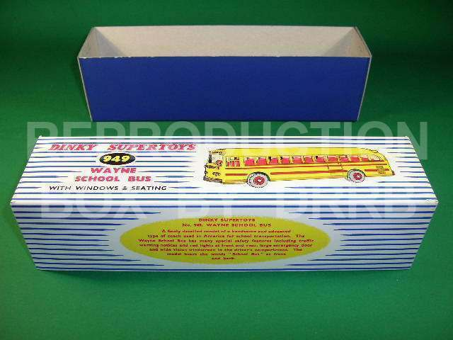 Dinky Wayne School Bus - Reproduction Reproduction Reproduction Box by DRRB 398bf1