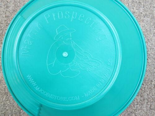 "New 10/"" MARTIN Prospecting GOLD PAN Kit  Made In INMAN SC Green"
