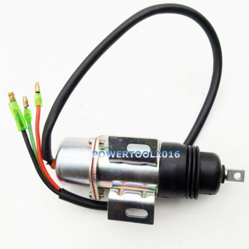 Stop Solenoid 12VDC 8-94453341-0 894453-3411 MV1-58 for Hitachi Isuzu Engine