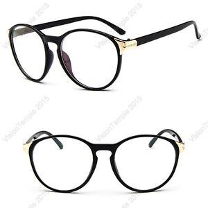 d6fa532cf5 Image is loading Designer-Trendy-Glasses-Round-Lens-Eyewear-Black-Green-