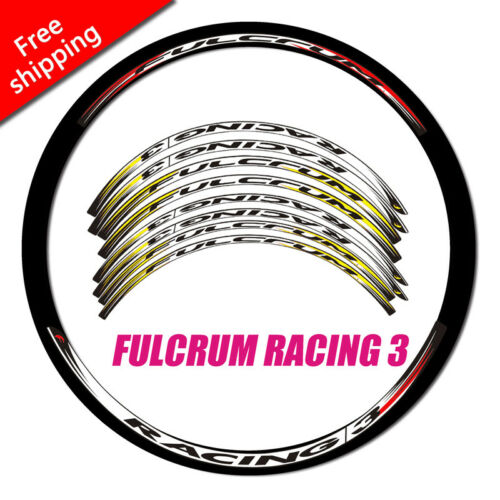 Road bike bicycle Carbon Wheel Rim Stickers For Fulcrum RACING 3 R3 dirt decals