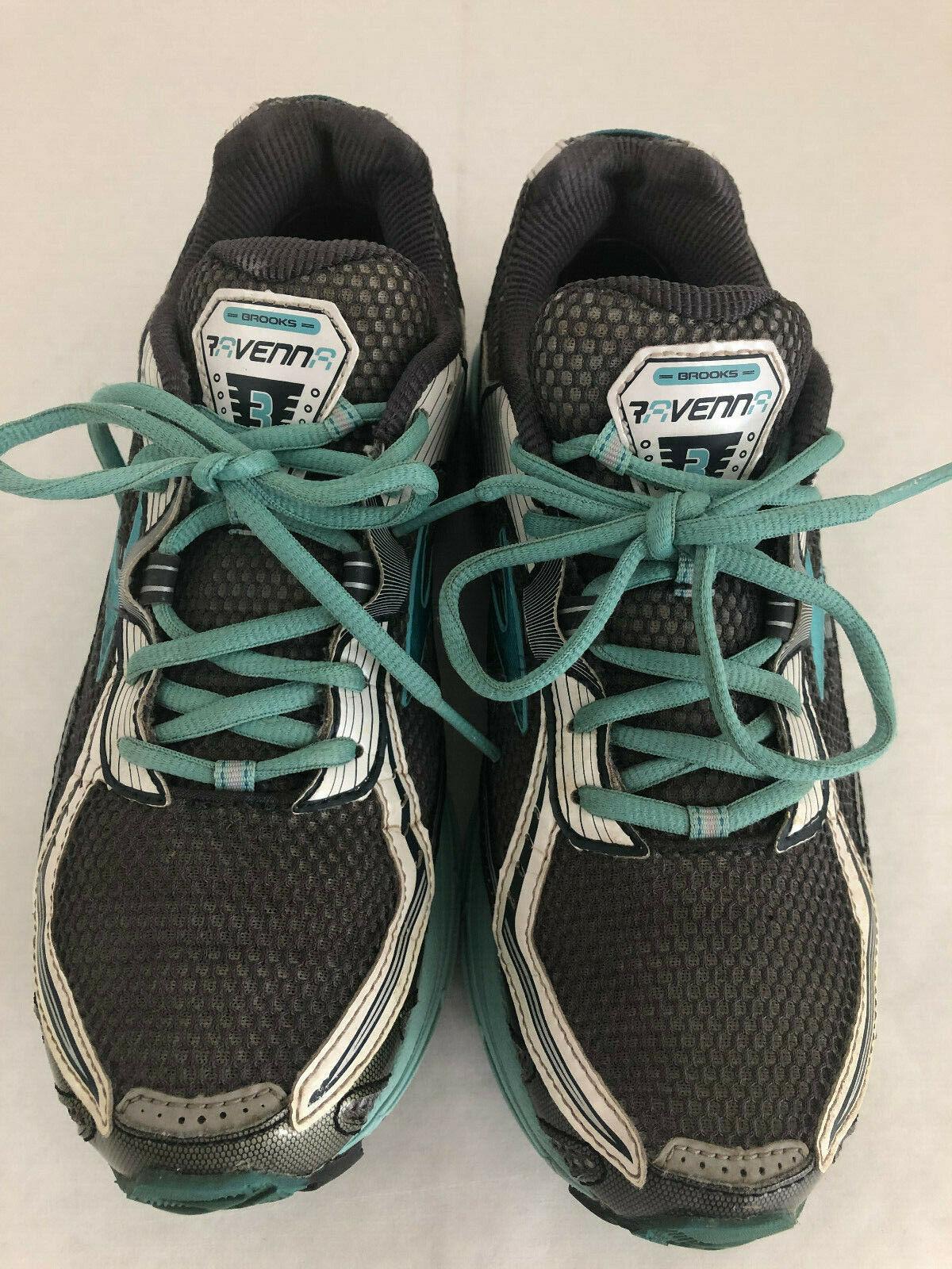 Women's BROOKS RAVENNA 3 Mint Green Running shoes Sneakers Size 9.5 B US 41 EUR