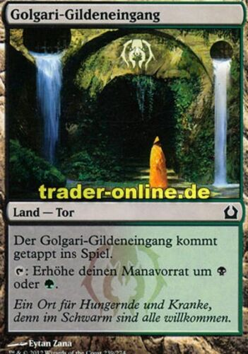 2x Golgari-Gildeneingang Golgari Guildgate Return to Ravnica Magic