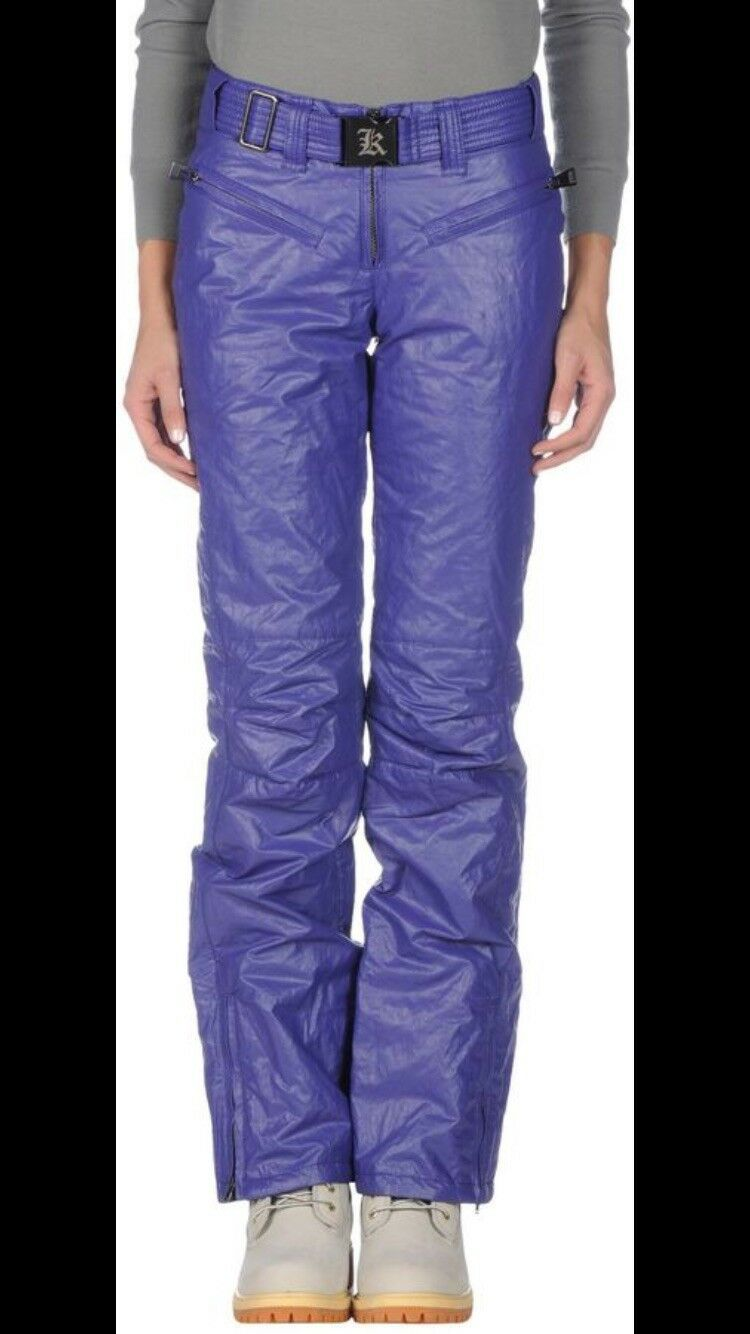 Luxury Brand Designer ski pants Size 2 NWT. 100% Authentic.