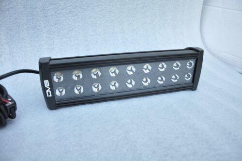 """12/"""" Light Bar LED Black DV8 Off Road BRS-12"""