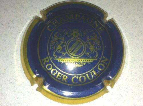11b. bleu et or vif Capsule de champagne COULON Roger