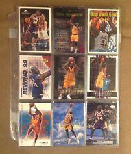 Shaquille O'neal 9 Card Lot Black Diamond UD Inserts Lakers Magic TNT Suns