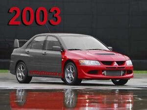 2003 mitsubishi lancer evo 8 shop service manual cd tsb maintenance rh ebay com 2008 Mitsubishi Lancer Evo X Mitsubishi Lancer EVO 7
