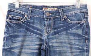 BKE-Buckle-Stella-Stretch-Boot-Cut-Thick-Stitch-Pockets-Denim-Jeans-Women-039-s-27