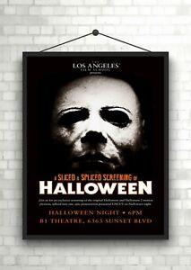 HALLOWEEN POSTER LARGE A3 OR STANDARD A4 POSTER-FREE UK P/&P