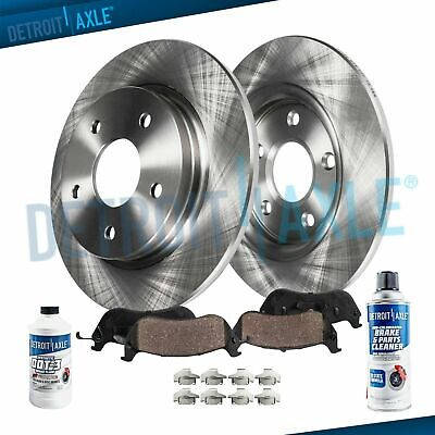 Front and Rear Rotors Metallic Pads For 1999 2000 2001 2002 2003 2004 AUDI A6