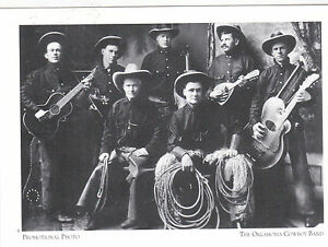 Postcard-034-Promotional-Photo-034-The-Oklahoma-Cowboy-Band-60