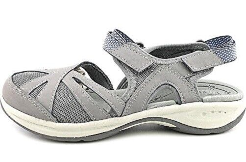 Easy Spirit Splash athletic walking shoe Leder mesh Grau sz 6.5 Med NEU