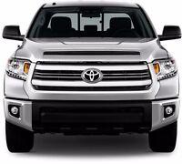 Fits Toyota Tundra Sr/sr5 2014-2015 Chrome Abs Plastic Grille Overlay Insert 6pc