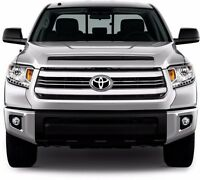 Fits Toyota Tundra Sr/sr5 2014-2015 Chrome Abs Plastic Grille Overlay Insert 6pc