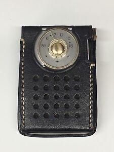 Details about VINTAGE 50's RCA VICTOR TRANSISTOR POCKET RADIO MODEL 3 RH21G  w/ ORIGINAL CASE
