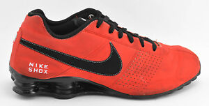 MENS NIKE SHOX DELIVER 2013 RUNNING SHOES SIZE 13 RED BLACK 317547 ... 39d5ed562