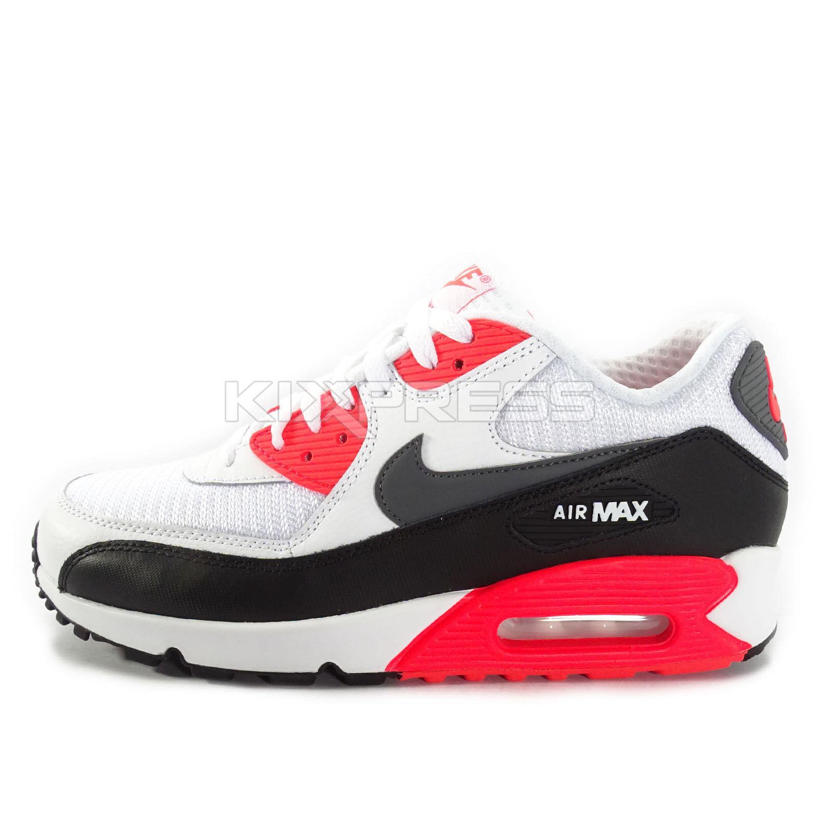 Nike Air Max 90 OG Essential [537384-126] NSW Running OG 90 White/Grey-Black-Infrared 94a778