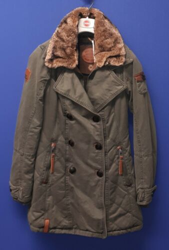 Naketano Gr giacca Averell parka invernale Olive Xs Ii Originale Blödmann 5Tq6SS