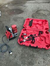 Milwaukee 4272 21 Electro Magnetic Drill With 3 Bits