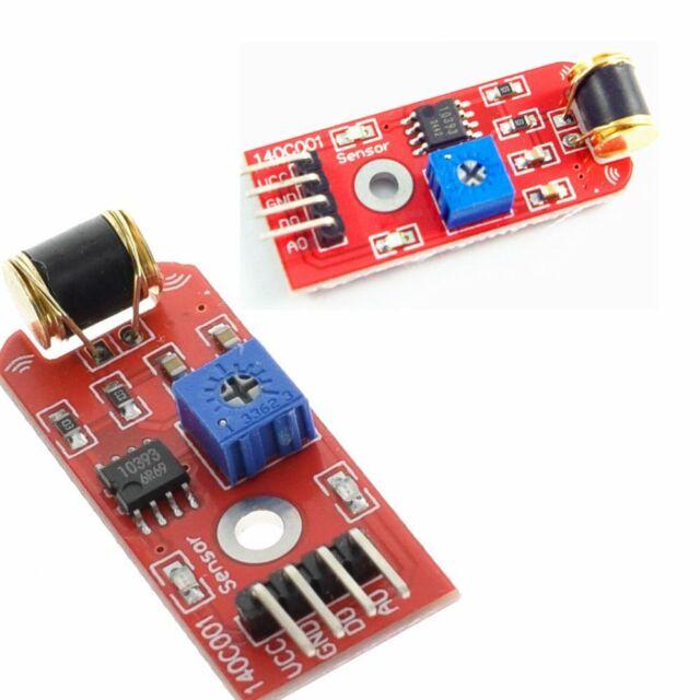 Sensitivity S3 For 3-5VDC Shake Sensor Module 801S Open Source Vibration Analogs