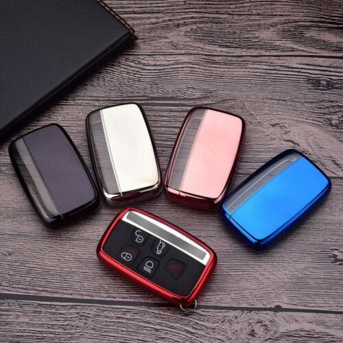 5 buttons tpu smart remote Key Case Fob cover for Jaguar XF XJ XJL XE F-PACE new