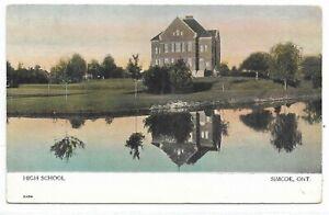 Simcoe County SIMCOE ONTARIO High School Publisher Warwick Bro.'s & Rutter