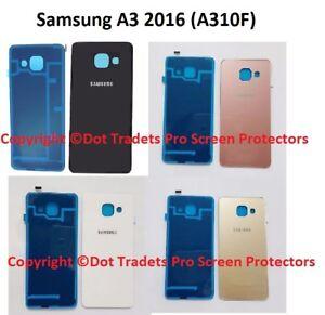 Vidrio-Trasero-Repuesto-Trasero-Cubierta-de-Bateria-para-Samsung-Galaxy-A3-2016-A310F