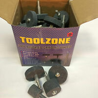 """36 All purpose Quality Assorted grinding wheels - Coarse / fine grits 1/4"""" arbor"""