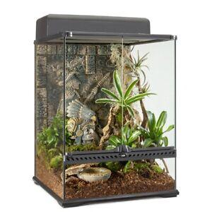 Exo Terra Glass Terrarium Tank 24 by 18 by 18-Inch