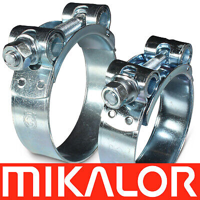 27mm to 29mm Mikalor Supra Stainless Steel Heavy Duty Hose Clip Clamp