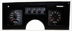 LS SWAP 84-89 C4 Corvette Digital Dash Panel White LED Gauges Lifetime Warranty