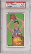 1970-71 Topps #21 - WALLY ANDERZUNAS - PSA 6 (ST) - Cincinnati ROYALS Basketball