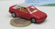 Praline/Busch    Ford  Escort Cabrio,  rot