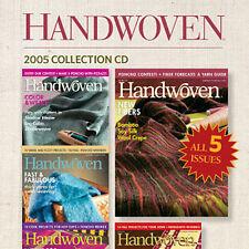 Handwoven magazine nov//dec 2008:pin-loom totebag felted