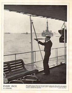 1914 Imprimé Première Guerre Mondiale ~ Prince Albert (george Vi) Naval Uniforme Kfswnzn3-08002446-849156523