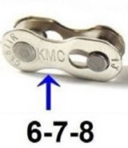2x Chain Joining Link 6 7 8  9  10 11 Speed Easy Missing Master Quick  KMC Links