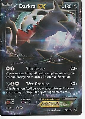 Darkrai Ex 180pv 74//122 XY Rupture Turbo Carte Pokemon Ultra Rare neuve FR