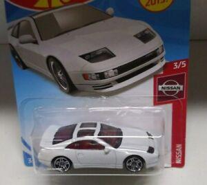Hot Wheels 2019 Nissan series NISSAN 300ZX TWIN TURBO 3//5 110//250 white 89-96