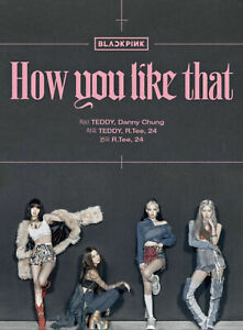 BLACKPINK-How-You-Like-That-Special-Edition-CD-PhotoCard-Poster-Tracking