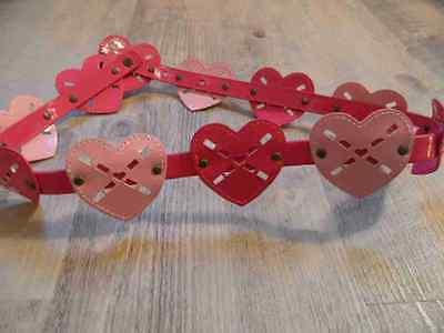 Sincero Gymboree Bel Cuore Cintura Rosa Pink Tg. 5/6 J St1216 Top-mostra Il Titolo Originale