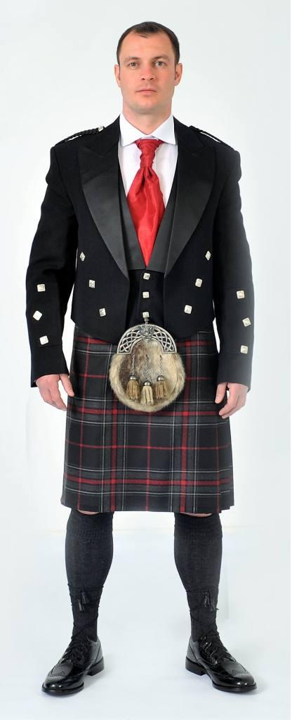 Full Highland Dress Chieftain Spirit of Bruce Kilt Set Choice Jacket Shirt Etc