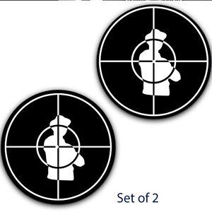Set-of-2-Public-Enemy-Inverted-7-034-inch-Slipmat-Portablism-Turntable-Slip-Mat-DJ