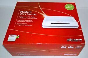 Bien Informé Telecom: Modem / Router Ultra Internet Adsl 2 / Fibra Wifi - Completo RafraîChissant Et BéNéFique Pour Les Yeux